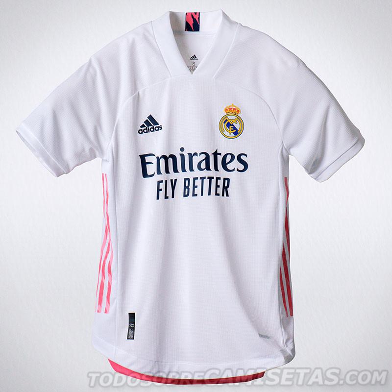 camisa Real Madrid 2020 home