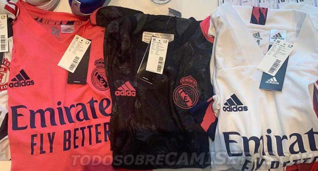 camisa Real Madrid 2020 kit 2020-21