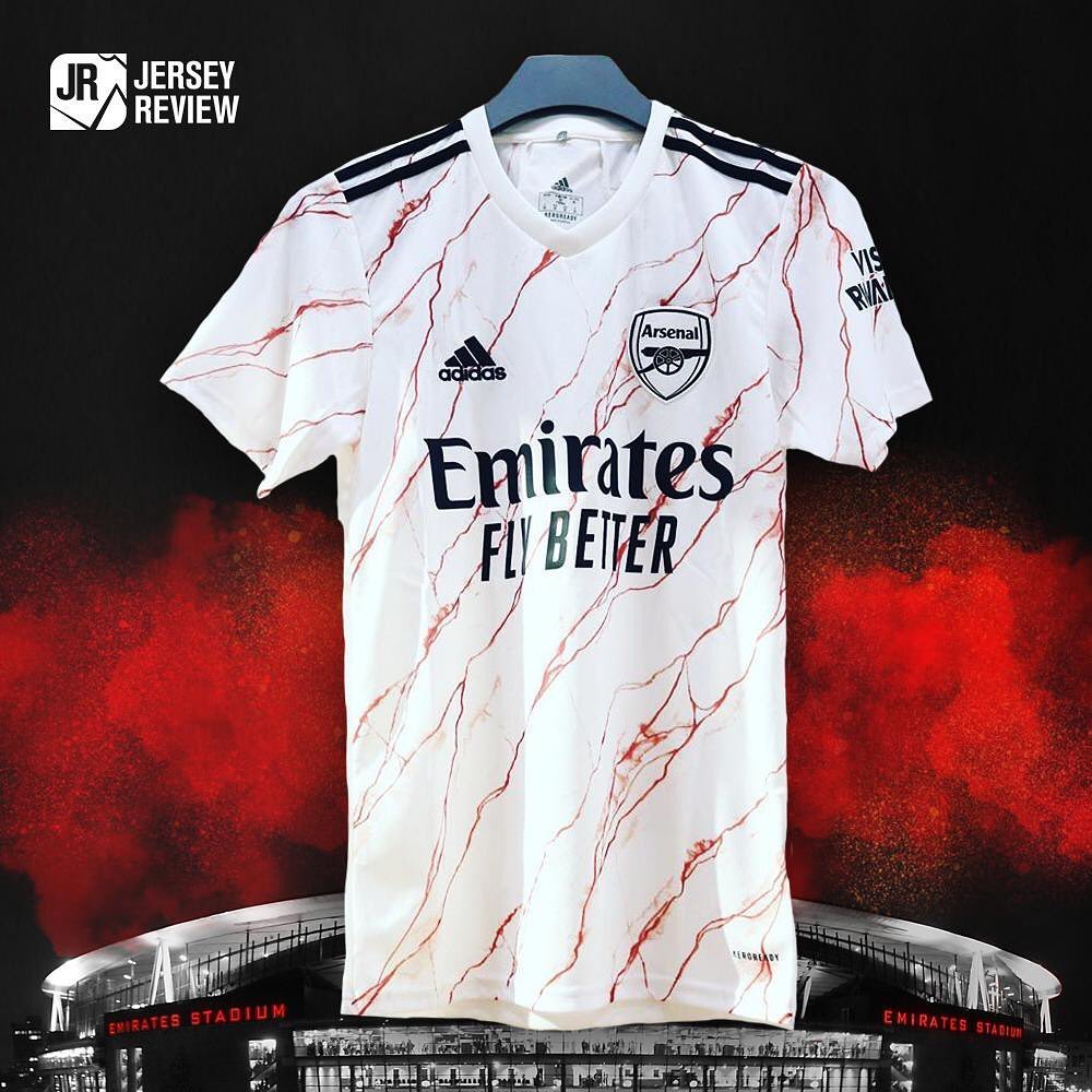 camisa do Arsenal 2020 inteira
