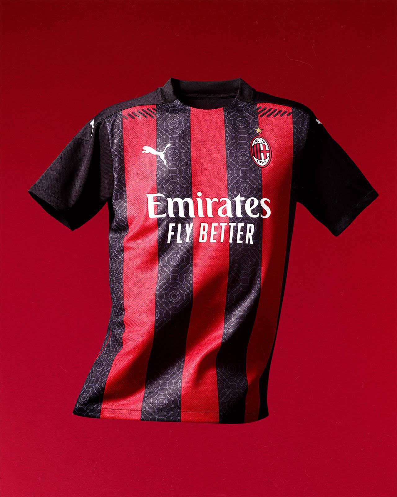 camisa do Milan 2020 inteira