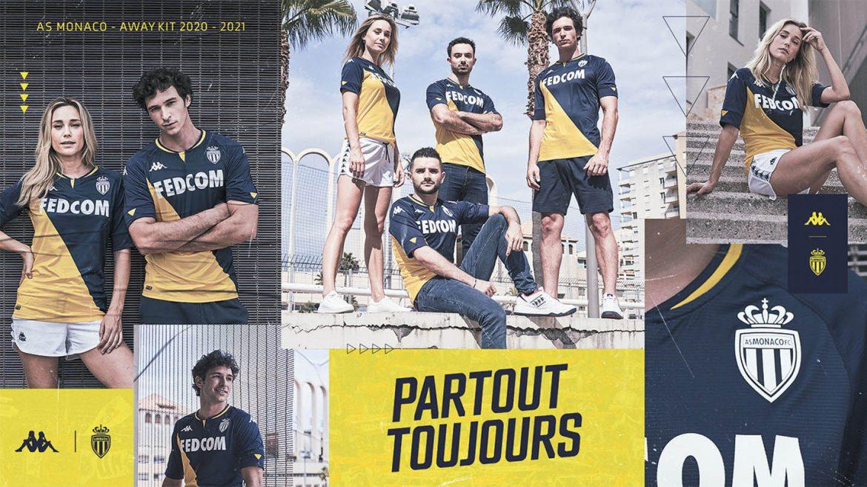 Camisas de times Mônaco