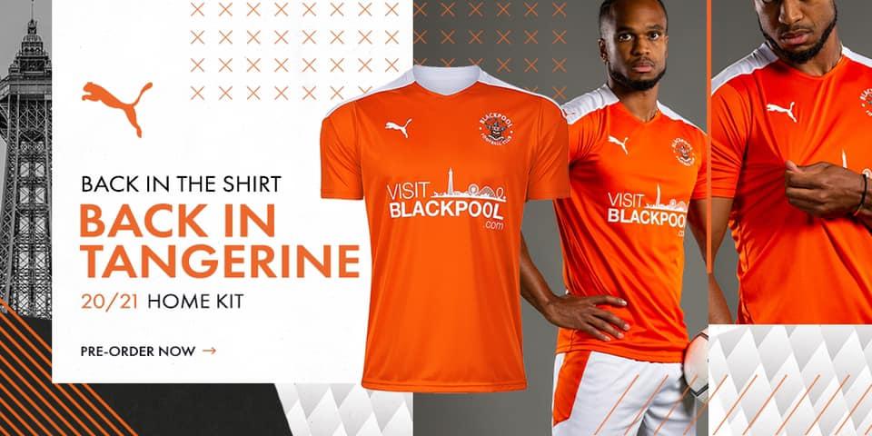 Camisas de times Blackpool