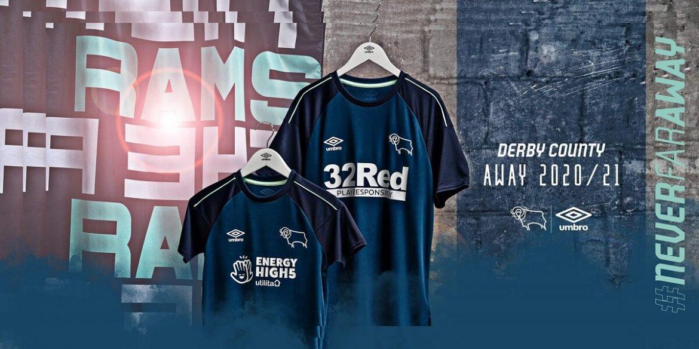 novas camisas de times Derby County