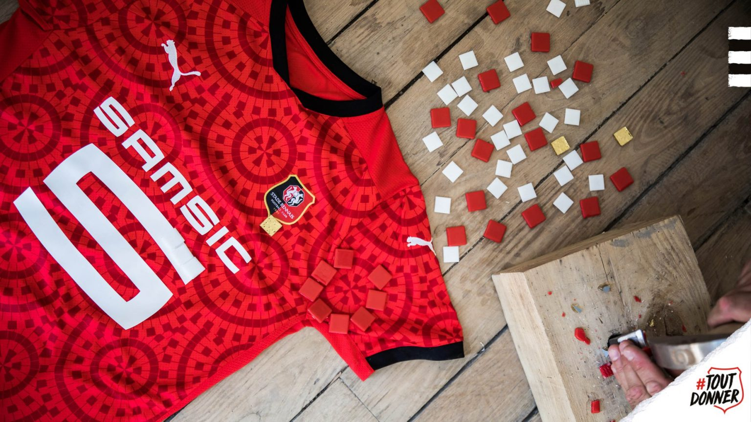Camisas de times Rennes