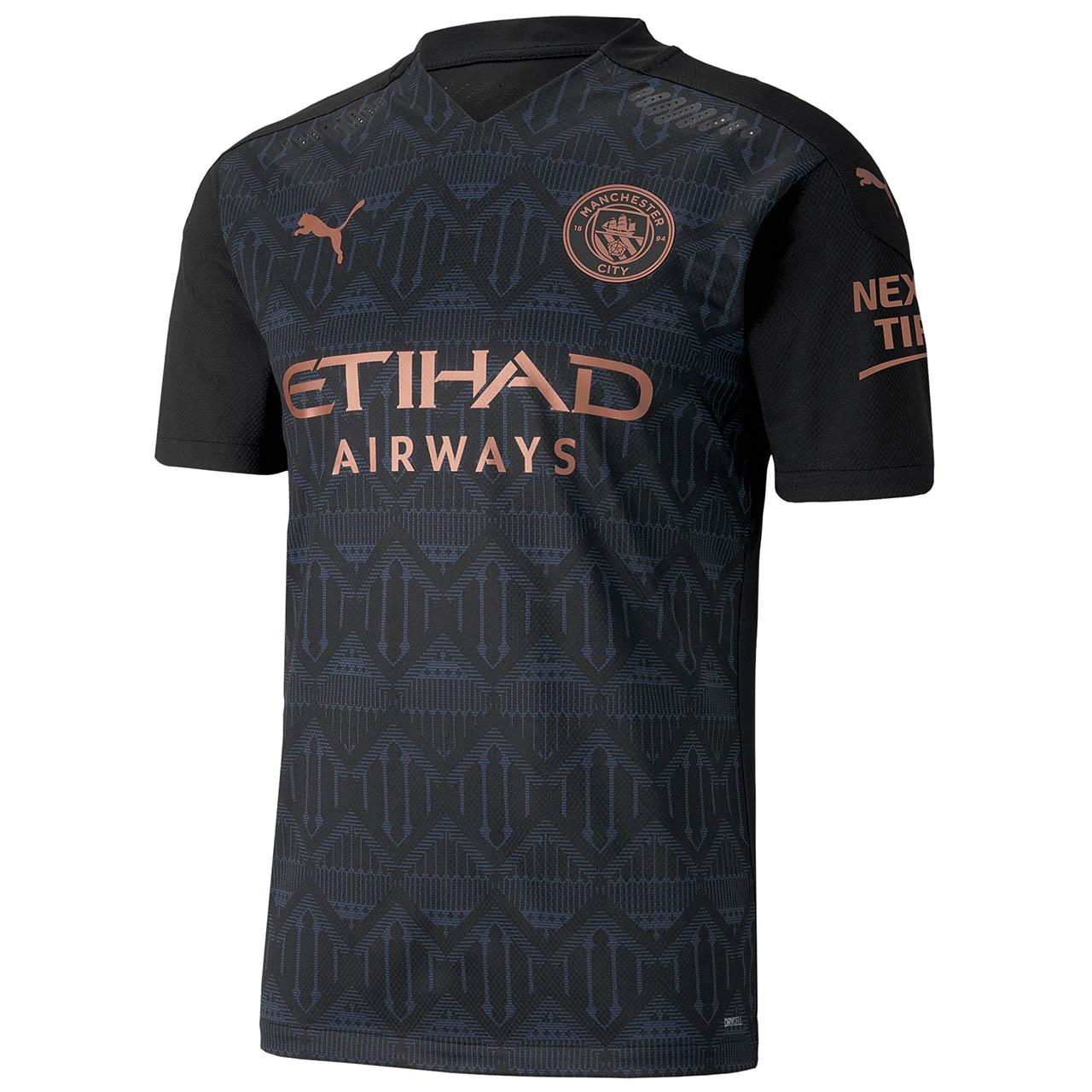 camisa Manchester City 2020 frente