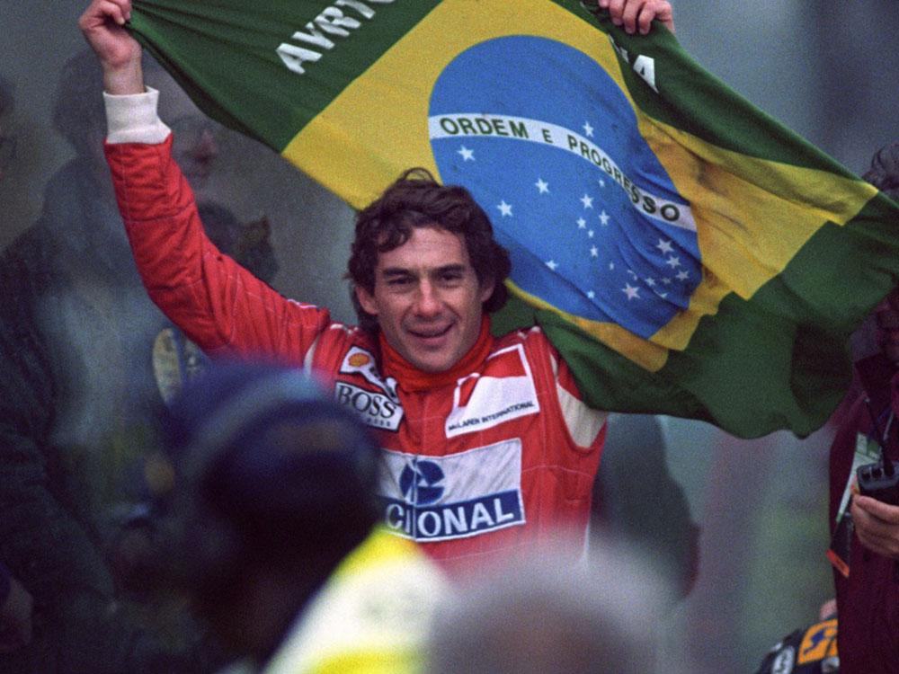 maiores campeões da f1 Ayrton Senna