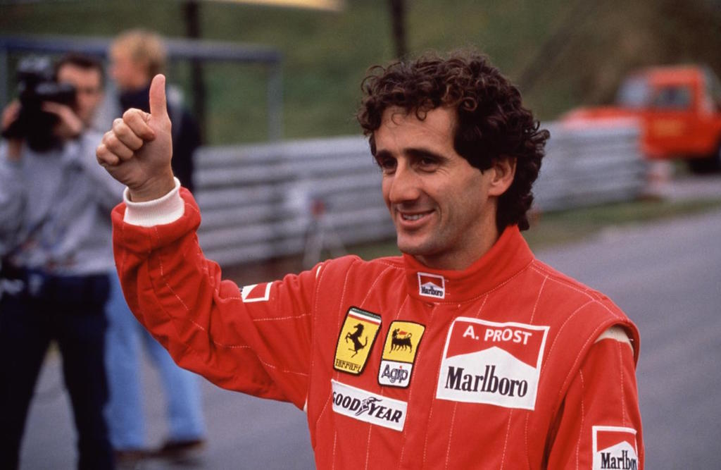 maiores campeões da f1 Alain Prost