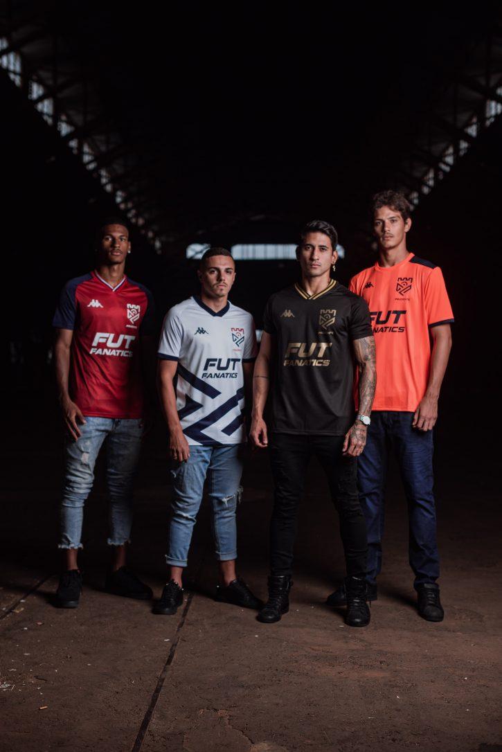Camisas do Grêmio Prudente