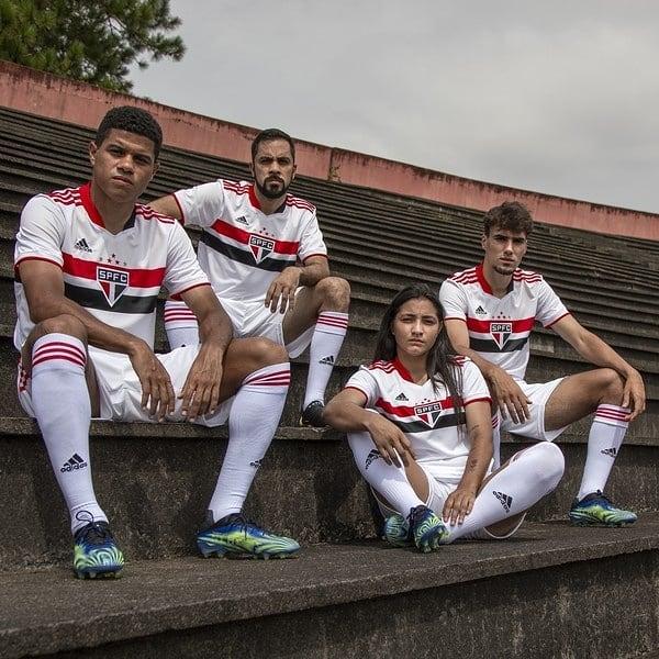 nova camisa do São Paulo 2021