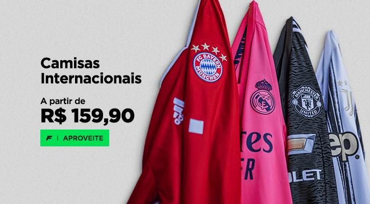 camisas de futebol mais vendidas