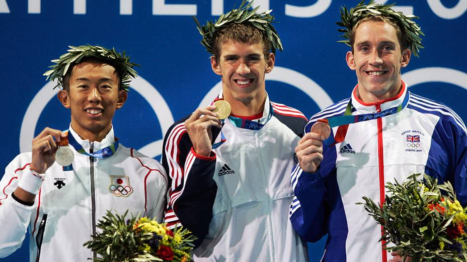 A história de Michael Phelps