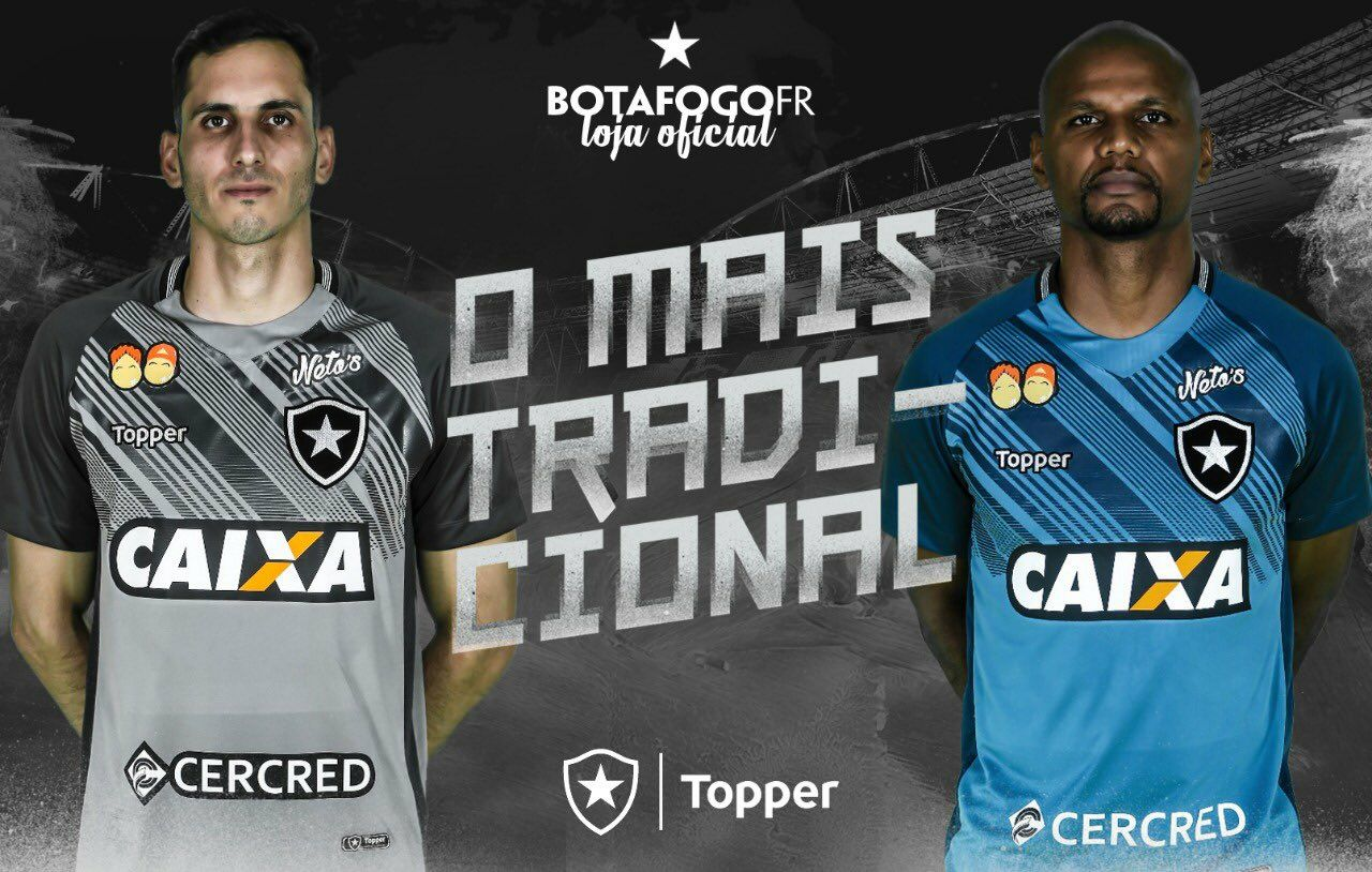 As novas camisas do Botafogo para temporada 2018-19 2995dd54ecc8c