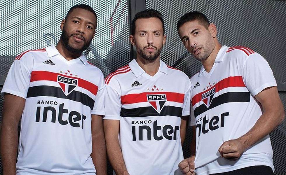 Adidas lança a nova camisa do São Paulo 2018-19 957a8ab298358