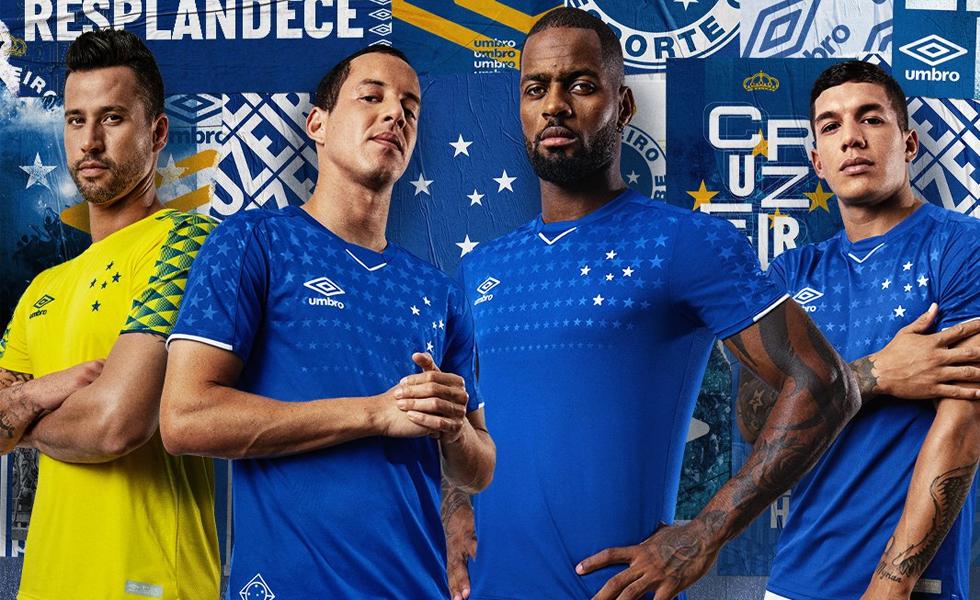 8cf4463dba158 Fim da espera  Umbro apresenta a nova Camisa do Cruzeiro para temporada