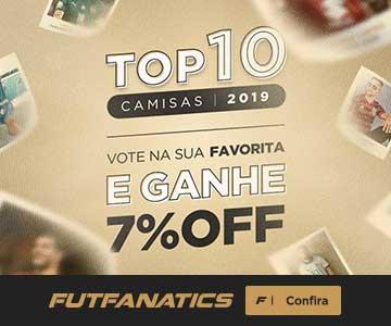 Top 10 Camisas 2019 FutFanatics
