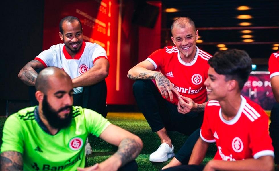 Confira a nova camisa do Inter com a Adidas para a temporada