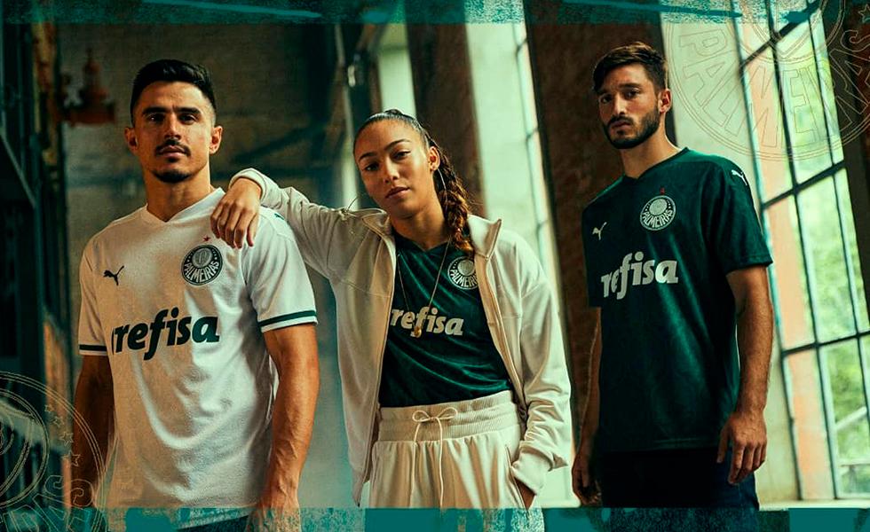 Saiu! Puma divulga a nova camisa do Palmeiras para 2020