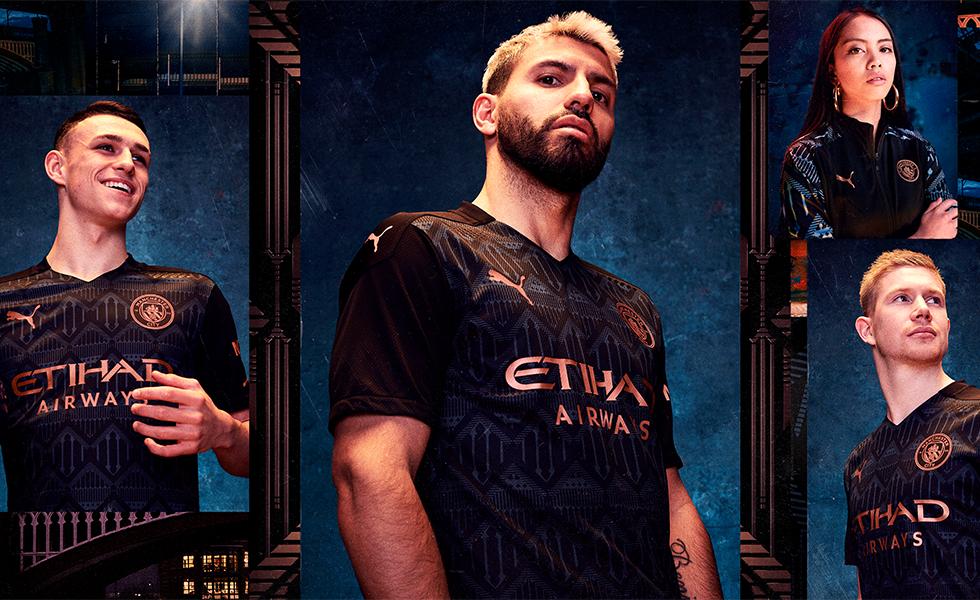 Camisa Manchester City 2020: Confira o novo manto reserva dos Citizens