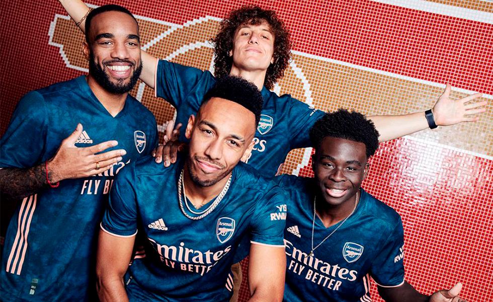 Camisa 3 do Arsenal: Confira o novo manto dos Gunners