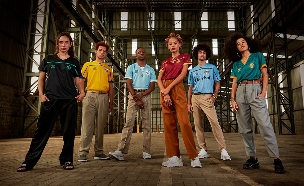 Camisas Umbro: Confira os novos mantos retrô para 6 clubes brasileiros